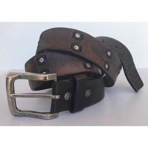 Vintage Levi's riveted belt